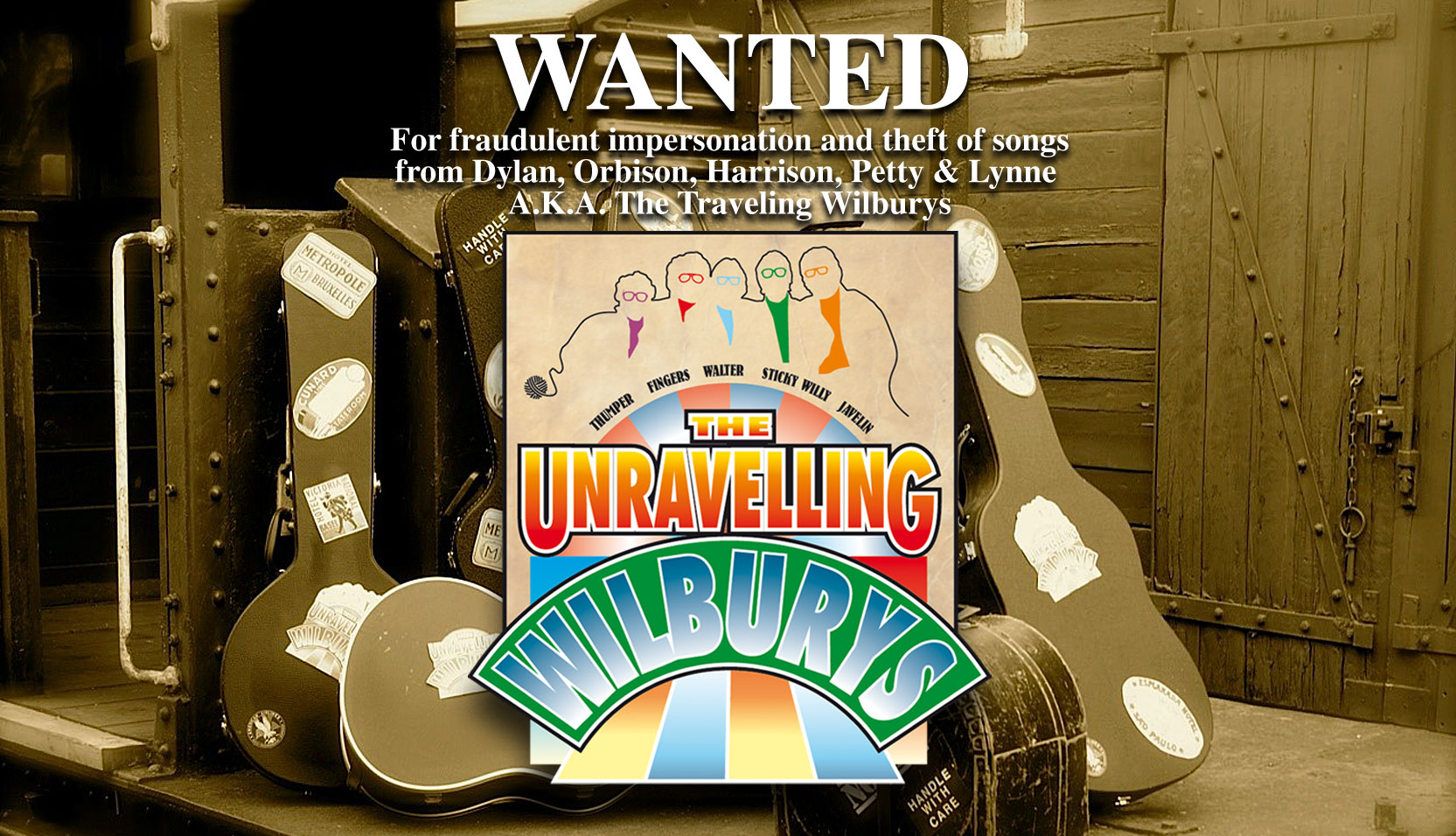 The Unravelling Wilburys Home Page Image