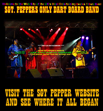 Sgt Peppers Only Dartboard Band Website